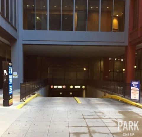 Parking for 55 E Jackson