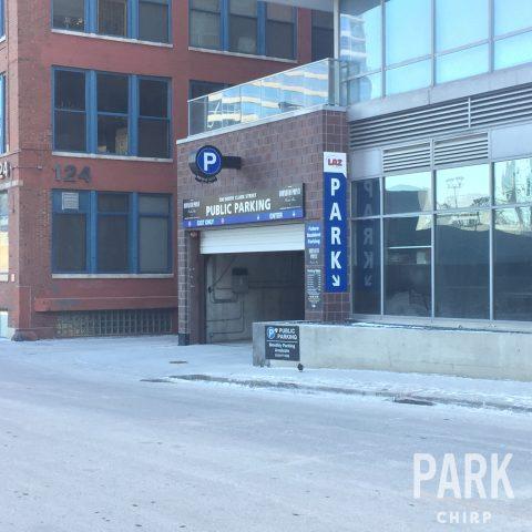 parking for Burnham Pointe