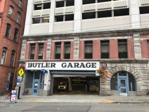 parking for butler garage
