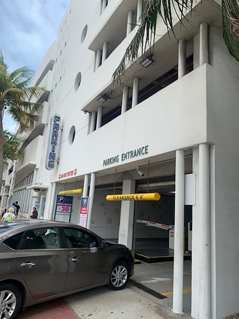 Parking for Miami Beach
