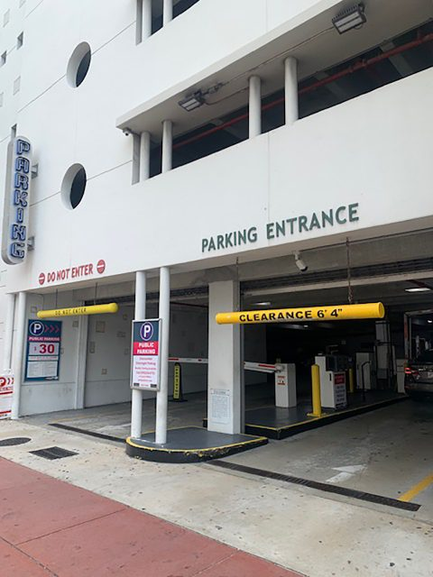 Parking for South Beach Miami