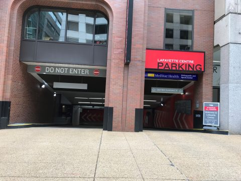 Parking for Lafayette Centre