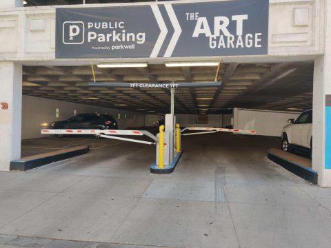 Parking for Art Garage