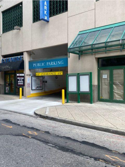 Parking for Bourse Garage