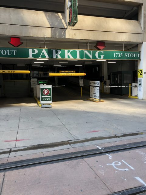 Parking for 1735 Stout