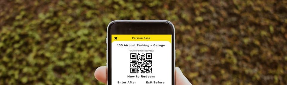 Touchless Airport Parking