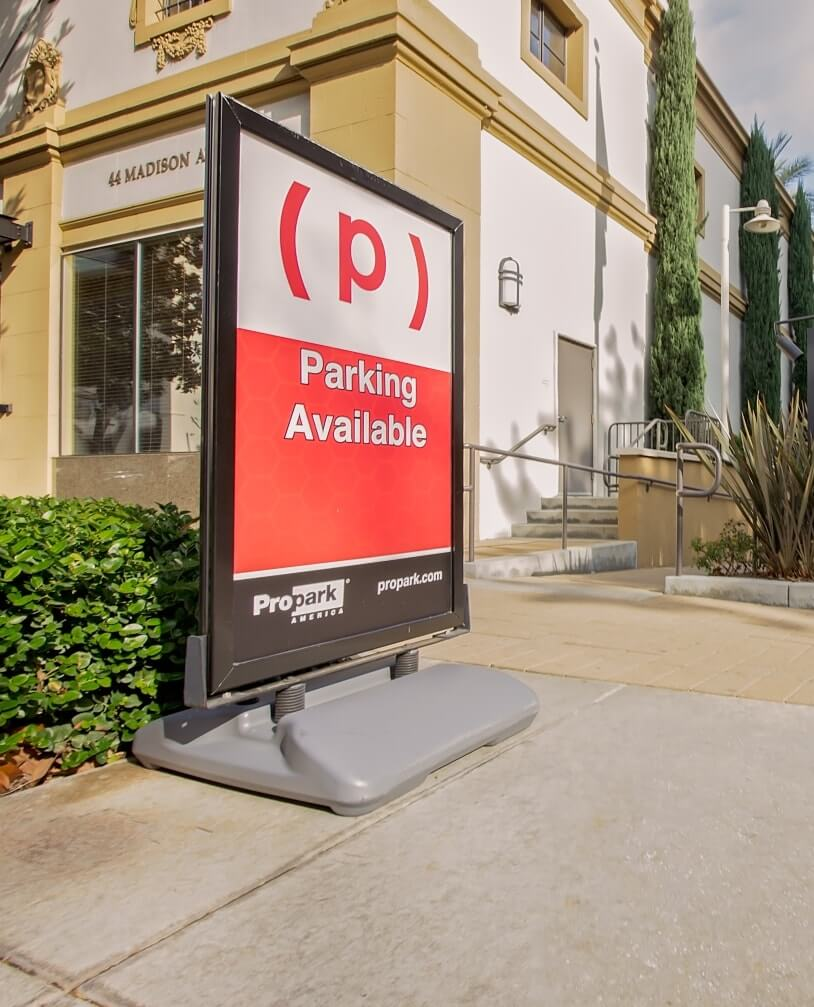 Propark Mobility Parking Sign for Residential Parking