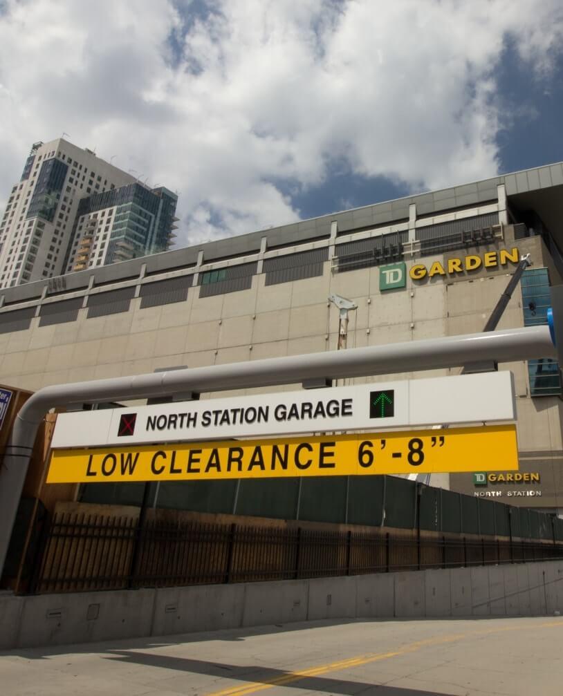 TD Graden North Station Garage Entrance | Stadium and Event Parking Management Services