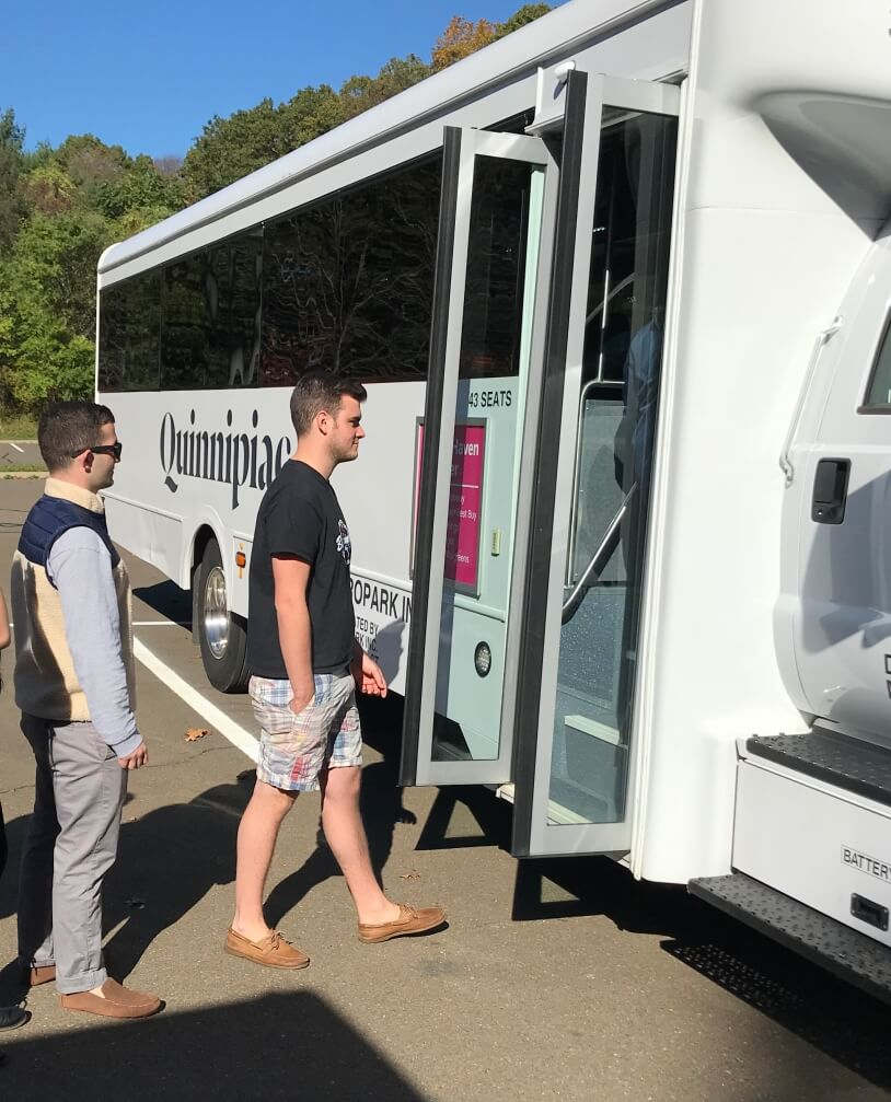 Quinnipiac University | Propark Mobility Shuttles and Parking Services
